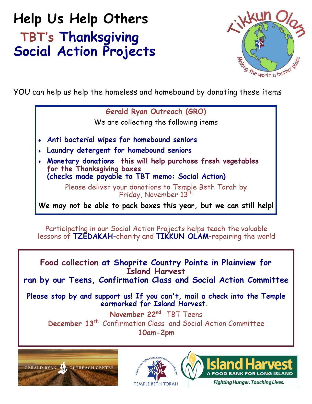 Share the Warmth Social Action 2020 RabbiREVISED